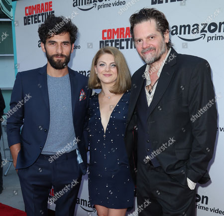 Editorial picture of 'Comrade Detective' TV show premiere, Arrivals, Los Angeles, USA - 03 Aug 2017