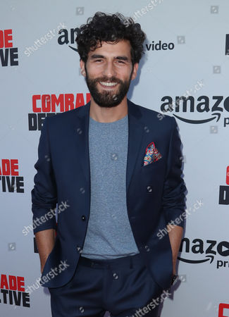 Editorial photo of 'Comrade Detective' TV show premiere, Arrivals, Los Angeles, USA - 03 Aug 2017