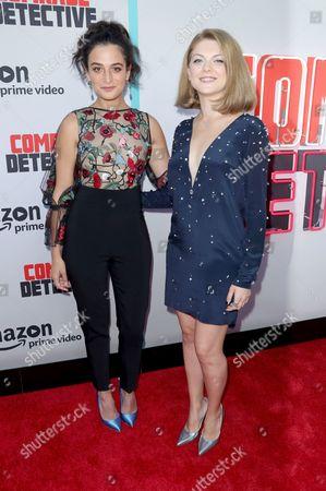 Stock Picture of Jenny Slate and Olivia Nita