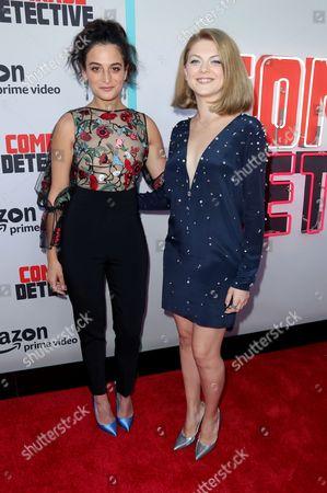 Jenny Slate and Olivia Nita