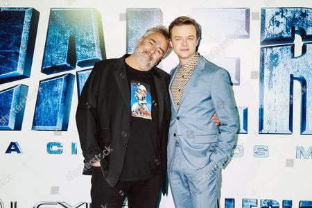 Dane Dehaan and Luc Besson
