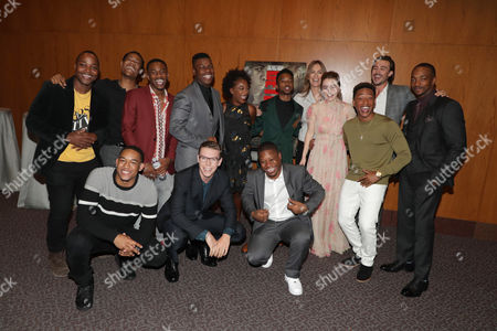 Stock Picture of Leon Thomas III, Tyler James Williams, Peyton Alex Smith, Malcolm David Kelley, John Boyega, Will Poulter, Samira Wiley, Algee Smith, Jason Mitchell, Kathryn Bigelow, Director/Producer, Kaitlyn Dever, Jacob Latimore, Ben O'Toole, Anthony Mackie