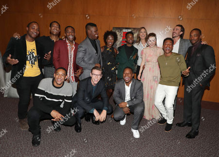 Stock Image of Leon Thomas III, Tyler James Williams, Peyton Alex Smith, Malcolm David Kelley, John Boyega, Will Poulter, Samira Wiley, Algee Smith, Jason Mitchell, Kathryn Bigelow, Director/Producer, Kaitlyn Dever, Jacob Latimore, Ben O'Toole, Anthony Mackie