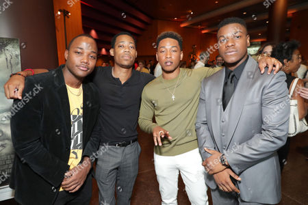 Leon Thomas III, Tyler James Williams, Jacob Latimore, John Boyega
