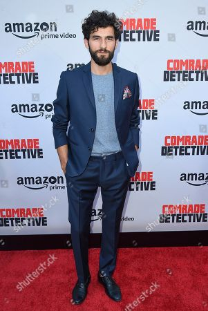 """Florin Piersic Jr. arrives at the Los Angeles premiere of """"Comrade Detective"""" on in Los Angeles"""