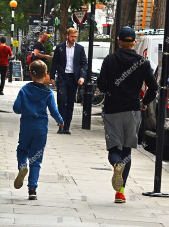 Editorial picture of Chris Evans out and about, London, UK - 02 Aug 2017