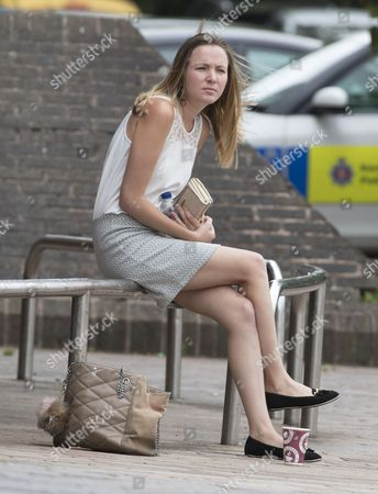 Katy Anne Bethel appears at Maidstone crown court charged with the people smuggling of 12 Vietnamese illegal immigrants at the Channel Tunnel 2 years ago.