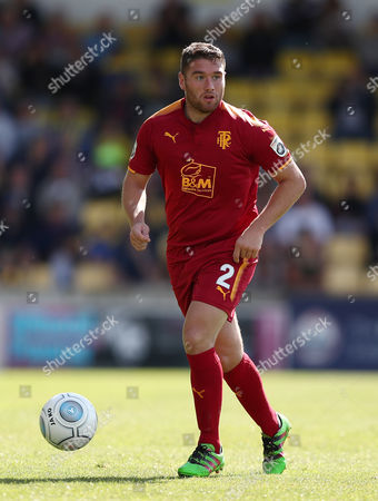 Adam Buxton of Tranmere Rovers during the National League match between Torquay United and Tranmere Rovers at Plainmoor on August 5, 2017 in Torquay, England. (Photo by Gary Day)