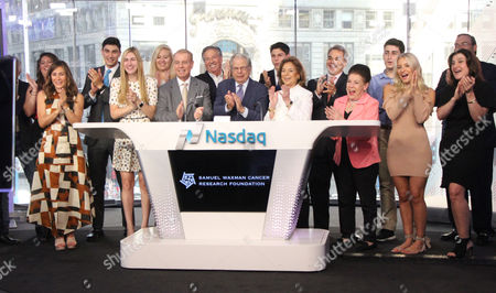 Editorial picture of Samuel Waxman rings The Nasdaq Opening Bell, New York, USA - 03 Aug 2017