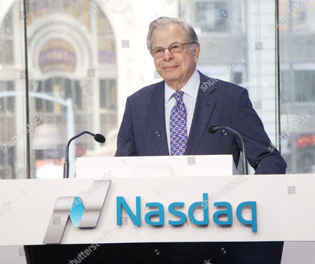 Editorial photo of Samuel Waxman rings The Nasdaq Opening Bell, New York, USA - 03 Aug 2017