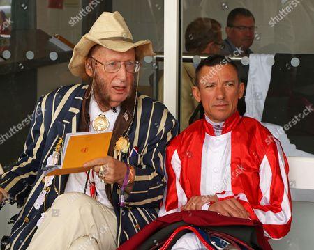 John McCririck & Frankie Dettori at Glorious Goodwood