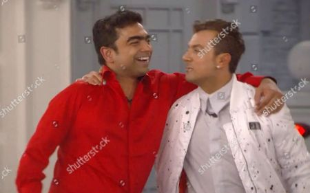 Karthik Nagesan reacts to Marissa's eviction with Paul Danan