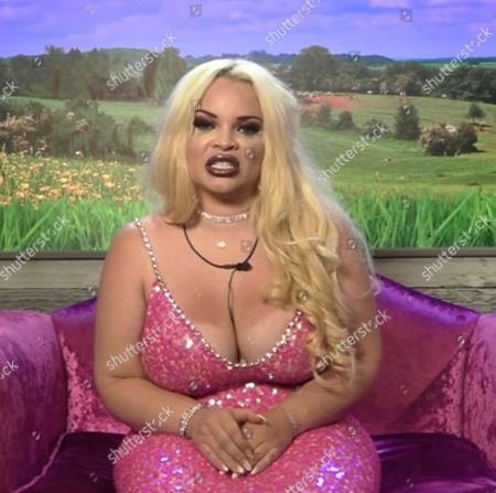 Stock Image of Trisha Paytas in the Diary Room