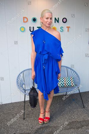 Jewelry designer Jennifer Fisher attends the Domino Hamptons Outpost VIP Party at the Topping Rose House, in Bridgehampton, NY