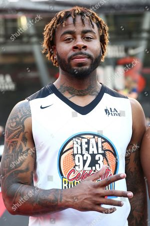 Sage The Gemini attends the 2017 Nike Basketball 3ON3 Tournament: Celebrity Basketball Game held at L.A. Live, in Los Angeles