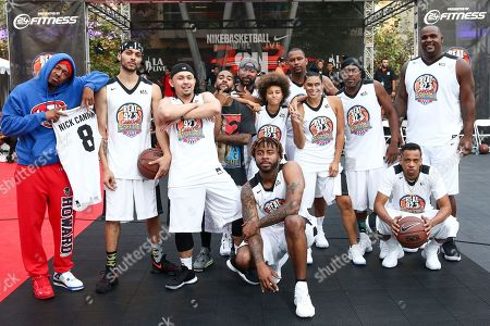 Editorial photo of 2017 Nike Basketball 3ON3 Tournament: Celebrity Basketball Game, Los Angeles, USA - 04 Aug 2017