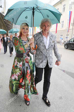Stock Picture of Thomas Gottschalk, Thea Gottschalk
