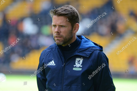 James Beattie during the EFL Sky Bet Championship match between Wolverhampton Wanderers and Middlesbrough at Molineux, Wolverhampton