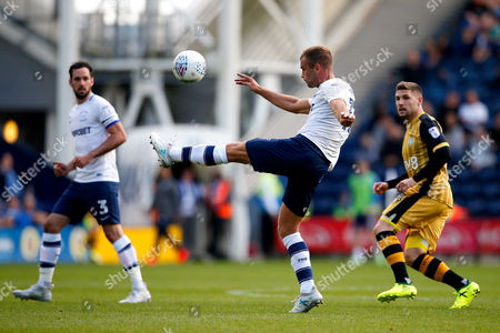 Tommy Spurr of Preston North End in action