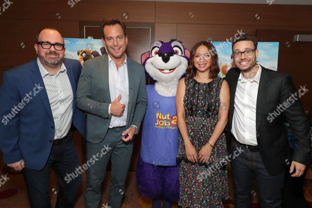 Cal Brunker, Director/Writer/Actor, Will Arnett, Surly, Maya Rudolph, Bob Barlen, Writer/Producer/Actor,
