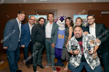 Mike Karz, Producer, Cal Brunker, Director/Writer/Actor, Bobby Moynihan, Will Arnett, Surly, Maya Rudolph, Bill Bindley, Producer, Gabriel Iglesias, Bob Barlen, Writer/Producer/Actor,