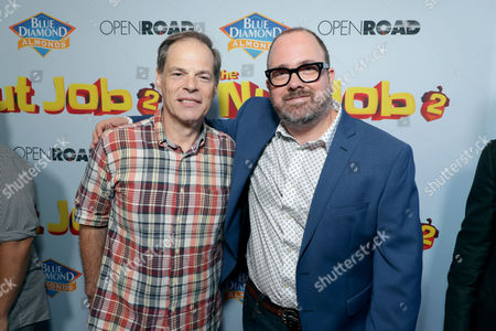 Tom Ortenberg, Chief Executive Officer of Open Road Films, Cal Brunker, Director/Writer/Actor,