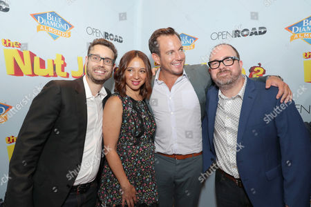 Bob Barlen, Writer/Producer/Actor, Maya Rudolph, Will Arnett, Cal Brunker, Director/Writer/Actor,