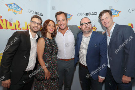 Bob Barlen, Writer/Producer/Actor, Maya Rudolph, Will Arnett, Cal Brunker, Director/Writer/Actor, Mike Karz, Producer,