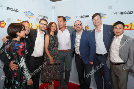 Isabela Moner, Bill Bindley, Producer, Bob Barlen, Writer/Producer/Actor, Maya Rudolph, Will Arnett, Cal Brunker, Director/Writer/Actor, Mike Karz, Producer, Hong Kim, Executive Producer,