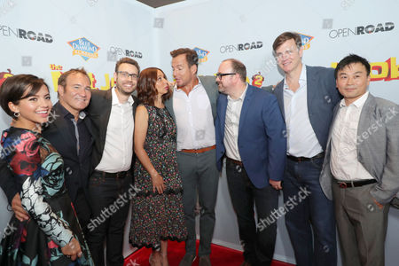 Editorial image of 'The Nut Job 2: Nutty by Nature' film premiere, Arrivals, Los Angeles, USA - 05 Aug 2017