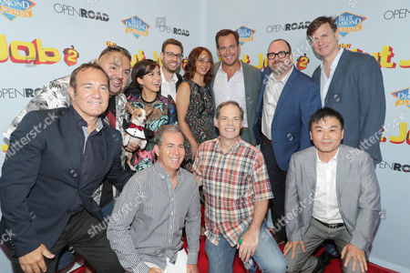 Bill Bindley, Producer, Gabriel Iglesias, Isabela Moner, Bob Barlen, Writer/Producer/Actor, Scott Bindley, Writer, Maya Rudolph, Tom Ortenberg, Chief Executive Officer of Open Road Films, Will Arnett, Cal Brunker, Director/Writer/Actor, Mike Karz, Producer, Hong Kim, Executive Producer,
