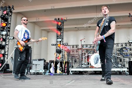Johnny Stevens of Highly Suspect performs on day three at Lollapalooza in Grant Park on in Chicago