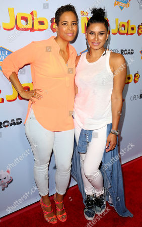 "Daphne Wayans, Laura Govan Daphne Wayans, left, and Laura Govan arrive at the LA Premiere of ""The Nut Job 2: Nutty by Nature"", in Los Angeles"