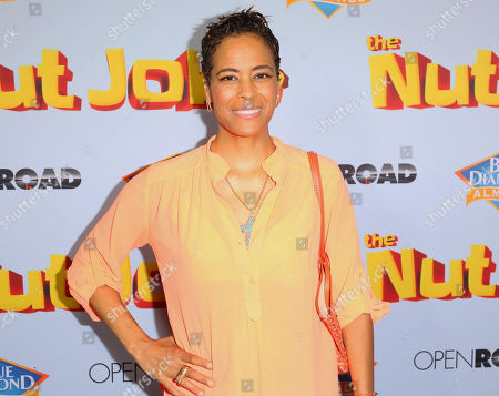 "Daphne Wayans arrives at the LA Premiere of ""The Nut Job 2: Nutty by Nature"", in Los Angeles"