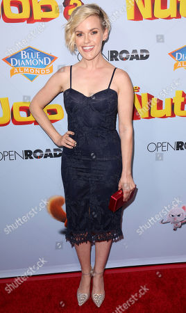 """Kari Wahlgren arrives at the LA Premiere of """"The Nut Job 2: Nutty by Nature"""", in Los Angeles"""
