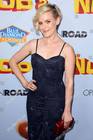 """Stock Picture of Kari Wahlgren arrives at the LA Premiere of """"The Nut Job 2: Nutty by Nature"""", in Los Angeles"""