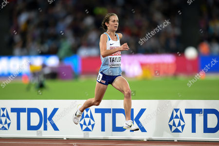 Stock Image of Charlotte Taylor of Great Britain in action