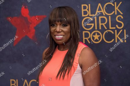 Stock Image of Mikki Taylor attends the Black Girls Rock! Awards at the New Jersey Performing Arts Center, in Newark, N.J