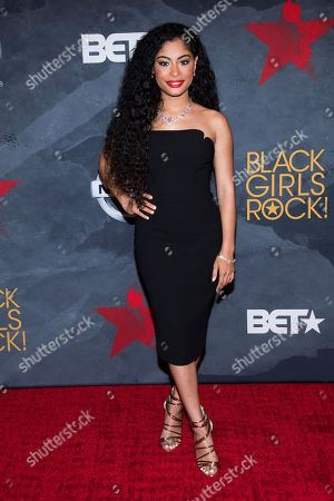 Editorial picture of 2017 Black Girls Rock Awards - Arrivals, Newark, USA - 05 Aug 2017