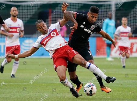Editorial picture of MLS Toronto FC DC United Soccer, Washington, USA - 05 Aug 2017