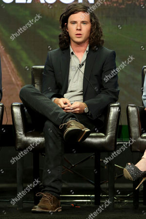 """Charlie McDermott participates in the """"The Middle"""" panel during the Disney ABC Television Critics Association Summer Press Tour at the Beverly Hilton, in Beverly Hills, Calif"""