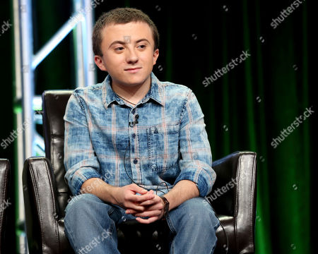 """Stock Image of Atticus Shaffer participates in the """"The Middle"""" panel during the Disney ABC Television Critics Association Summer Press Tour at the Beverly Hilton, in Beverly Hills, Calif"""