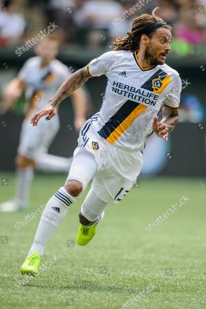 LA Galaxy M Jermaine Jones (13) during the MLS soccer game between the LA Galaxy and the Portland Timbers at Providence Park on in Portland, OR