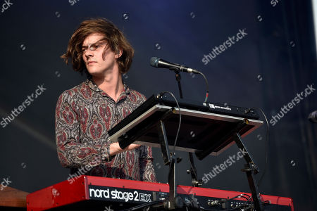 Dot Major of London Grammar performs on day four at Lollapalooza in Grant Park on in Chicago