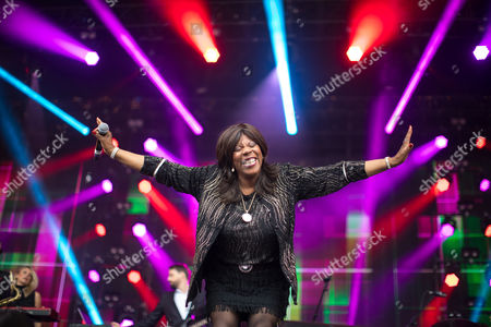 Stock Picture of Jaki Graham performs