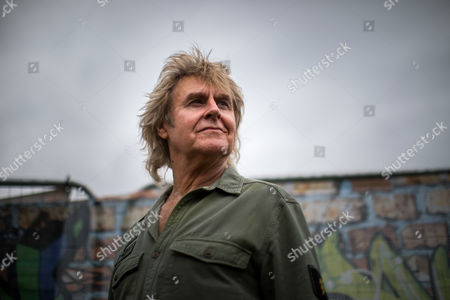 Musician John Parr ahead of his stage performance.