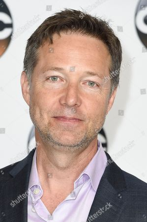 George Newbern attends the Disney ABC Television Critics Association 2017 Summer Press Tour at the Beverly Hilton Hotel, in Beverly Hills, Calif