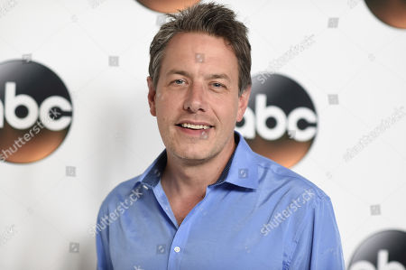 John Ross Bowie attends the Disney ABC Television Critics Association 2017 Summer Press Tour at the Beverly Hilton Hotel, in Beverly Hills, Calif