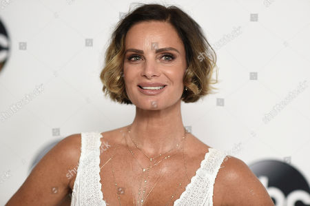 Gabrielle Anwar attends the Disney ABC Television Critics Association 2017 Summer Press Tour at the Beverly Hilton Hotel, in Beverly Hills, Calif