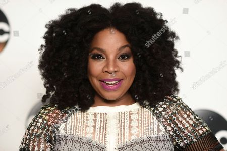 Kimberly Hebert Gregory attends the Disney ABC Television Critics Association 2017 Summer Press Tour at the Beverly Hilton Hotel, in Beverly Hills, Calif